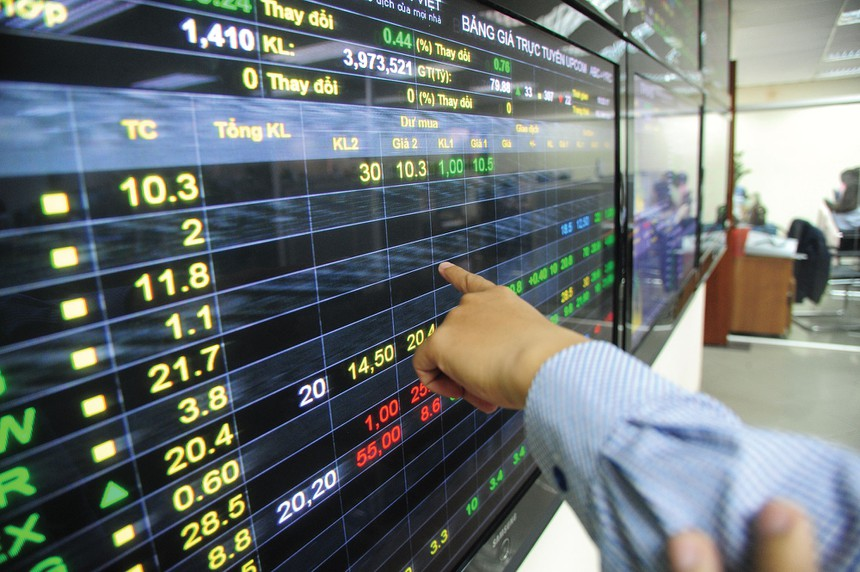 """Nhóm ngân hàng, khu công nghiệp """"dậy sóng"""", VN-Index áp sát 1.200 điểm kinhtetrithuc.vn"""