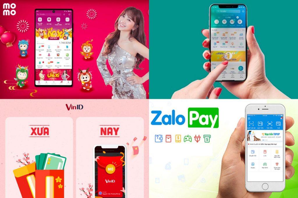 Ví điện tử đua mời gọi lì xì online, tạo xu hướng tiêu dùng mới kinhtetrithuc.vn