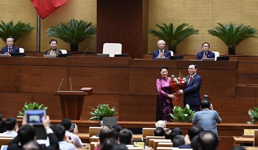 Ông Vương Đình Huệ được bầu làm Chủ tịch Quốc hội kinhtetrithuc.vn 1