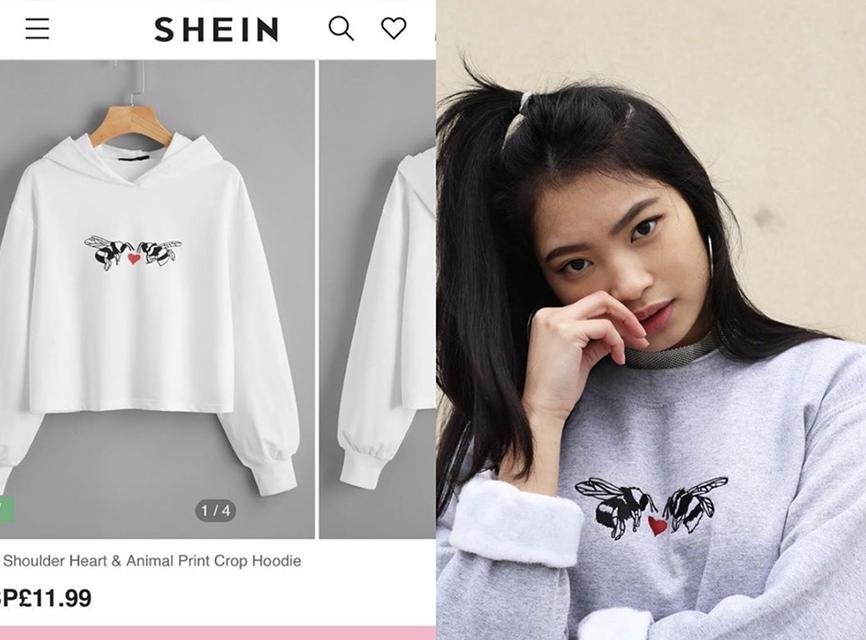 Một nhà thiết kế trẻ có tên Emma Warren tố Shein bày bán các mẫu áo nhái trắng trợn thiết kế của cô với giá rẻ mạt.